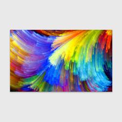Бумага для упаковки Абстракция красок цвета 3D — фото 1