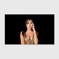 Бумага для упаковки Angelina Jolie цвета 3D — фото 1