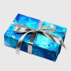 Бумага для упаковки Голубая вселенная цвета 3D — фото 2
