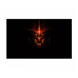 Бумага для упаковки Diablo Face цвета 3D — фото 1