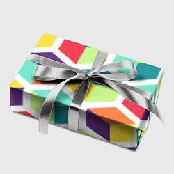 Бумага для упаковки 3D кубы цвета 3D — фото 2