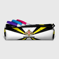 Пенал для ручек Войска связи цвета 3D-принт — фото 2