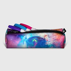 Пенал для ручек Космонавт - космос цвета 3D-принт — фото 2