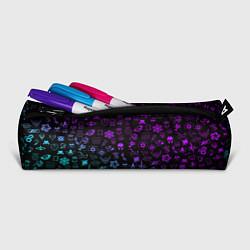 Пенал для ручек RAINBOW SIX SIEGE NEON цвета 3D-принт — фото 2