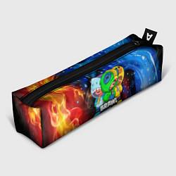 Пенал для ручек BRAWL STARS LEON SKINS цвета 3D — фото 1