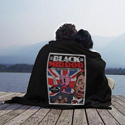 Плед флисовый Black Mirror: Pig Poster цвета 3D — фото 2