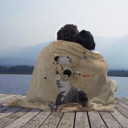 Плед флисовый Зигмунд Фрейд цвета 3D — фото 2