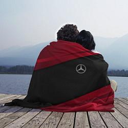 Плед флисовый Mercedes Benz: Red Sport цвета 3D-принт — фото 2