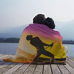 Плед флисовый Bohemian Rhapsody цвета 3D-принт — фото 2