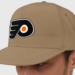 Кепка-снепбек Philadelphia Flyers цвета миндальный — фото 1