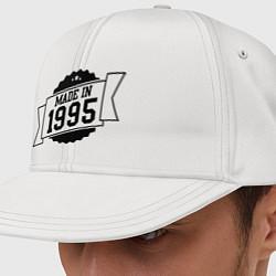 Кепка-снепбек Made in 1995 цвета белый — фото 1