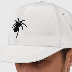 Кепка-снепбек Черный паук цвета белый — фото 1