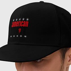 Кепка-снепбек American idiot цвета черный — фото 1