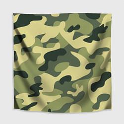 Скатерть для стола Камуфляж: зеленый/хаки цвета 3D — фото 1
