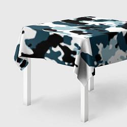 Скатерть для стола Камуфляж зимний: пятна цвета 3D — фото 2