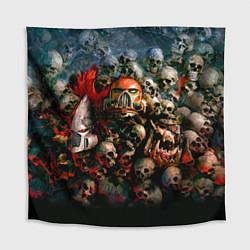 Скатерть для стола Warhammer 40k: Skulls цвета 3D-принт — фото 1