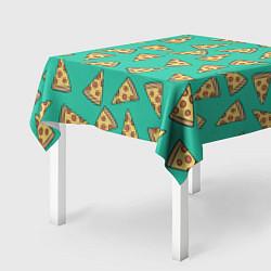 Скатерть для стола Стиль пиццы цвета 3D — фото 2