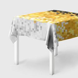 Скатерть для стола Имперский флаг пикселами цвета 3D — фото 2