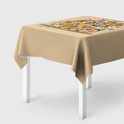 Скатерть для стола Игривые корги цвета 3D — фото 2
