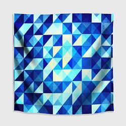 Скатерть для стола Синяя геометрия