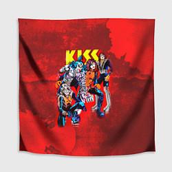 Скатерть для стола KISS: Hot Blood цвета 3D — фото 1