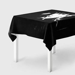 Скатерть для стола Цой с сигаретой цвета 3D — фото 2