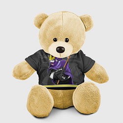Игрушка-медвежонок Los Angeles Kings цвета 3D-желтый — фото 1