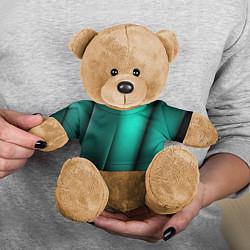 Игрушка-медвежонок Emerald lines цвета 3D-коричневый — фото 2