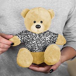Игрушка-медвежонок Английский алфавит цвета 3D-желтый — фото 2
