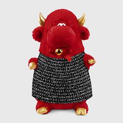 Игрушка-бычок Руны цвета 3D-красный — фото 1