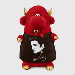 Игрушка-бычок Elvis Presley цвета 3D-красный — фото 1