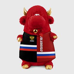Игрушка-бычок Volgograd, Russia цвета 3D-красный — фото 1