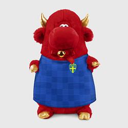 Игрушка-бычок Сборная Швеции: Гостевая ЧМ-2018 цвета 3D-красный — фото 1