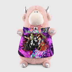 Игрушка-бычок Bungou Stray Dogs цвета 3D-светло-розовый — фото 1
