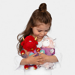Игрушка-бычок Пошлая Молли Арт цвета 3D-светло-розовый — фото 2