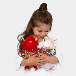 Игрушка-бычок ROBLOX PIGGY цвета 3D-красный — фото 2