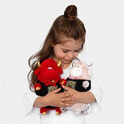 Игрушка-бычок Лев цвета 3D-красный — фото 2