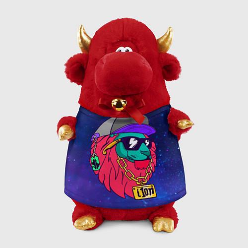 Игрушка-бычок Лев SWAG / 3D-Красный – фото 1