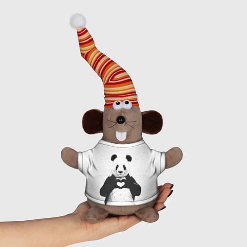 Игрушка-мышка Panda Love / 3D-Серый – фото 1
