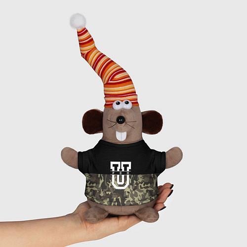 Игрушка-мышка FCK U: Camo / 3D-Серый – фото 1