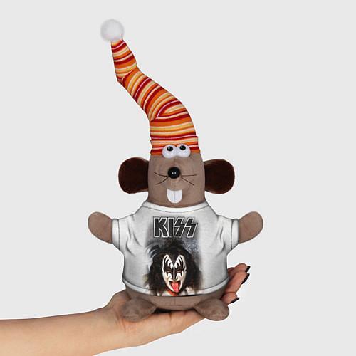 Игрушка-мышка KISS: Adult demon wig / 3D-Серый – фото 1
