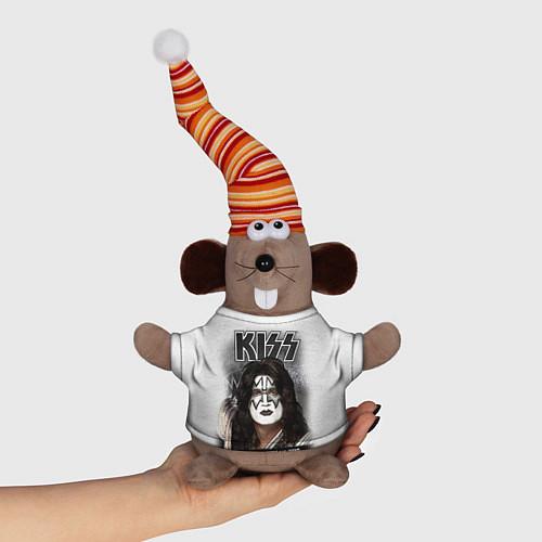 Игрушка-мышка KISS: Adult spaceman wig / 3D-Серый – фото 1