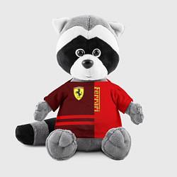 Игрушка-енот Ferrari: Red Line цвета 3D-серый — фото 1