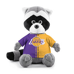 Игрушка-енот NBA: LA Lakers цвета 3D-серый — фото 1