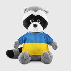 Игрушка-енот Украина цвета 3D-серый — фото 1