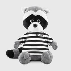 Игрушка-енот Заключенный цвета 3D-серый — фото 1