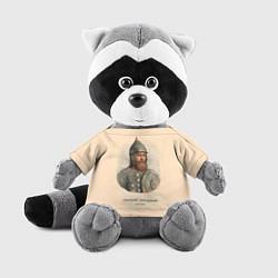Игрушка-енот Дмитрий Пожарский 1578-1642 цвета 3D-серый — фото 1