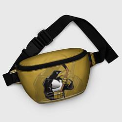 Поясная сумка Pittsburgh Penguins цвета 3D-принт — фото 2
