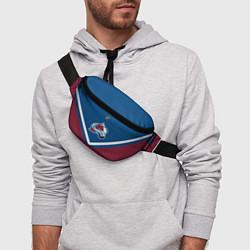 Поясная сумка NHL: Colorado Avalanche цвета 3D — фото 2