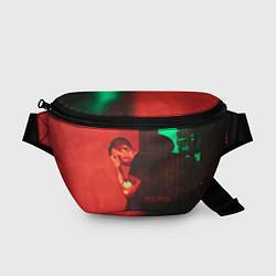 Поясная сумка Dolphin Pain цвета 3D-принт — фото 1